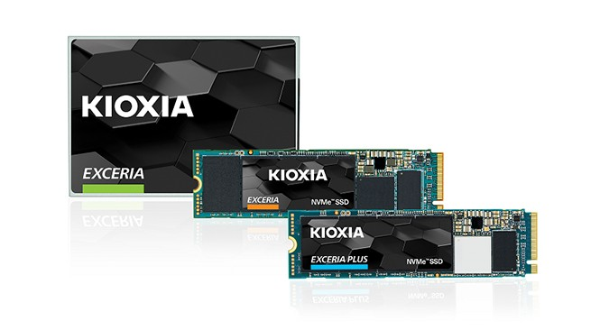 """KIOXIA"" branded SSD products"